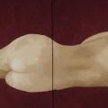 Sleepin' Woman - 164x62cm