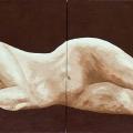 Sleeping Woman - 168x62cm