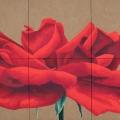 La Rosa di Uruk - 188x127cm